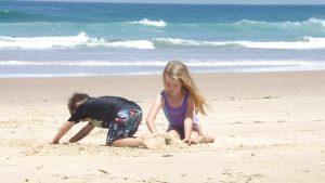 Cozumel My Cozumel beach with kids