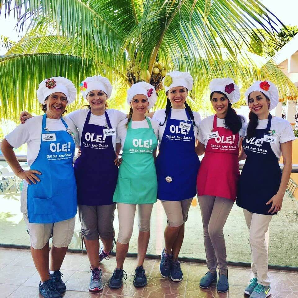 Cozumel My Cozumel salsa and salsa tour Cozumel