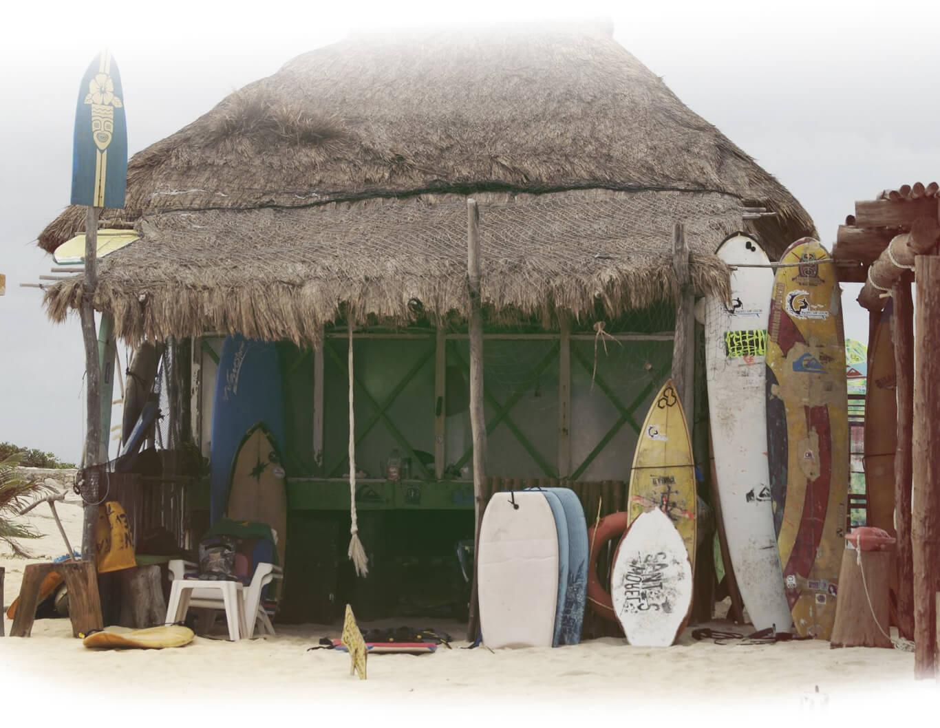 Cozumel My Cozumel surf lessons